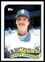 1989 Topps Traded RC Randy Johnson Rookie Seattle Mariners #57T