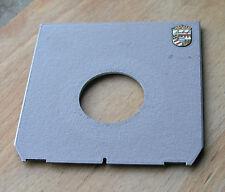 Genuine LINHOF 45 Technika Tan Lens Board panel for compur COPAL 0