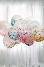 18 inch Huge Latex Confetti Balloons Bouquet Fashion Balloon Clear Party Wedding