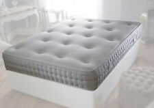 WHITE REFLEX ORTHOPAEDIC SPRUNG MATTRESS 3FT SINGLE 4FT 4FT6 DOUBLE 5FT KING