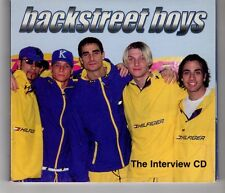 (HH658) Backstreet Boys, The Interview CD - 2000 CD + Booklet