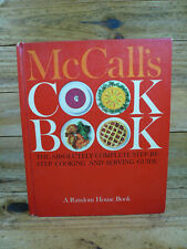 Vintage McCall's CookBook Hardback 1963 Illust Red Cover 1st Printing