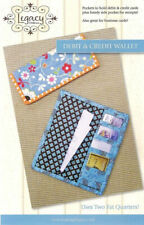 DEBIT, CREDIT or BUSINESS CARD WALLET~Fat Quarter Friendly Legacy Patterns