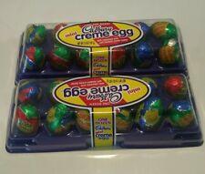 2 X Cadbury Mini Creme Eggs 2 Dozen Milk Chocolate w Fondant Creme Center