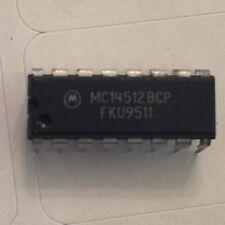 25 PEZZI X MC14512BCP 8 Canali selettore dati Motorola DIP-16