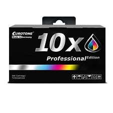 10x Eurotone PRO Tinte XL für Epson Stylus Office B-42-WD BX-305-FW BX-625-FWD