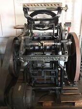 Антикварный печатный станок