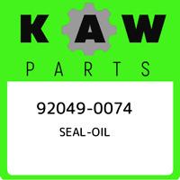 92049-0074 Kawasaki Seal-oil 920490074, New Genuine OEM Part