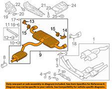 AUDI OEM 08-09 TT Quattro 3.2L-V6-Muffler 8J0253181M