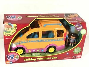 Fisher Price Dora The Explorer Talking Vamanos Van Multilingual With Sounds Rare