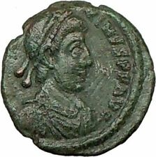 MAGNUS MAXIMUS 383AD Military Camp Gate RARE Ancient Roman Coin i18790