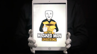 Apple iPad Pro 10.5-inch 64GB WiFi + Cellular Tablet - 'The Masked Man'