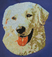 Embroidered Short-Sleeved T-Shirt - Kuvasz Dle1570 Sizes S - Xxl
