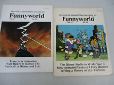 Funnyworld animated films & comic art 17 19 Walt Disney Warner Bros Frazetta '77