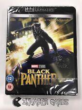 Marvel Black Panther 4K Ultra HD Blu-ray DVD UV Box Set Brand New Boxed Sealed