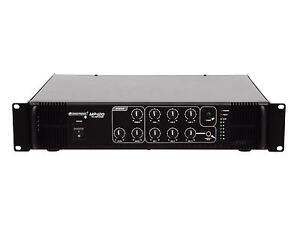 ELA Endstufe Verstärker 240 Watt Mixer für 70 V 100 V Beschallungsanlagen
