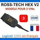 Ross Tech HEX-V2 + VCDS en version 3 VINs - Diagnostic Programmation DELPHI VAS