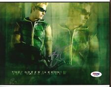 "JUSTIN HARTLEY as GREEN ARROW SIGNED 8x10 PHOTO #4 ""SMALLVILLE"" SUPERMAN PSA DNA"