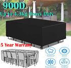 Outdoor Furniture Cover Heavy Duty Waterproof Garden Patio Rattan Table Cube