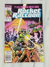 Rocket Raccoon #1 Newsstand Edition! High Grade! 1st Solo! Limited Series 1985