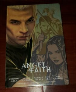 Angel and Faith Season 9 Volume 2 Library Edition Hardcover SEALED NEW Buffy