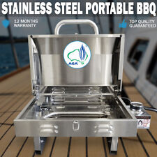Euro-Grand MARINE BBQ Portable Boat Gas Barbeque Stainless Steel Caravan