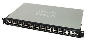 Cisco SMB SG300-52 Switch Gestito L2/L3 Gigabit Ethernet (10/100/1000) Nero