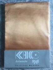 KBC Bettlaken Makro-Satin 140/250 cm * gold