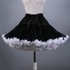 TUTU Skirt Petticoat Underdress Cosplay Pettiskirt Crinoline Fluffy Dance Skirt