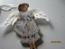 HEAVEN'S LITTLE ANGELS Bradford GENTLE GUARDIAN Bird Bird Angel Ornament #'d