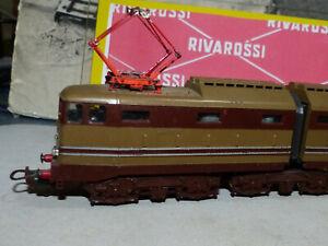 LIMA -Loco FS elettrico E 645-060 Castano e Isabella -Funzionante -Ottimo stato-