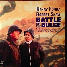 Battle Of The Bulge - Widescreen  Laserdisc Buy 6 for free shipping