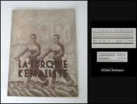 1938 VINTAGE LA TURQUIE KEMALISTE MAGAZINE ANKARA