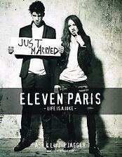 "PUBLICITE ADVERTISING  2010   ELEVEN PARIS  ASH & LIZZIE JAGGER  "" just married"""