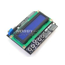 Composants Hobby ukarduino clavier LCD bouclier pour arduino duemilanove LCD 16x02