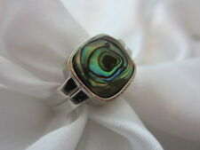 Abalone Shell Ring Size 9.5