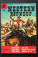 Dell Giant, Western Roundup #20, 1957  High grade Toth Art