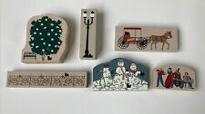 """""""The Cat's Meow"""" Village Accessories Set of 6"""