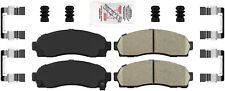 Disc Brake Pad Set-AmeriPlatinum Ceramic with Hardware Front Autopartsource