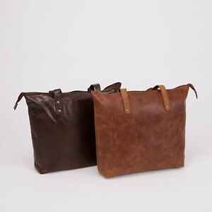 NORDBURY Leather Women Designer Handbag Ladies Tote Zipper Shoulder Bag