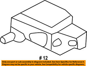 FORD OEM 11-16 Fiesta-Glove Box Lamp 1S4Z14413A