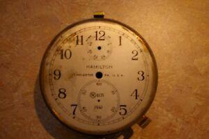Hamilton Marine Chronometer Tub and Dial and Bezel