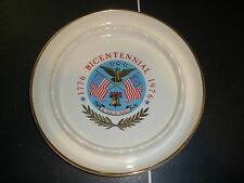 1776 - 1976 BICENTENNIAL ASHTRAY EXCELLENT CONDITION WITH LOGO