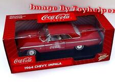 Johnny Lightning White Lightning Coca Cola 1964 Chevy Impala 1:18 Scale Nib