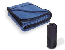 lestra polar-fleece-decke sans fermeture zip, bleu royal, 200 x 150 cm