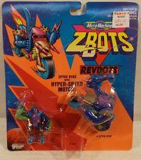 Z-Bots Micro Machines Revbots - Spyke Byke Motorcycle & AX-L Robot Galoob (MOC)