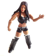 "WWF WWE TNA WRESTLING BRIE BELLA diva 6"" mattel elite female figure RARE"