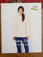 womens knitting patterns.jumpers.size 32-46 Inch Bust.Aran.Debbie Bliss Patterns
