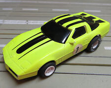für H0 Slotcar Racing Modellbahn  - Corvette mit Tyco Motor