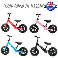 12'' Kids Balance Bike for 2 3 4 5 6 Years Riding Walking Adjustable Boys&Girls